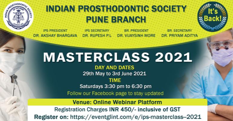 Online Masterclass 2021: how to handle Prosthodontics PG examination??