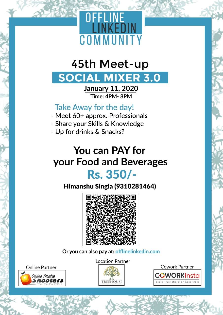 45th Meetup! Social Mixer 3.0