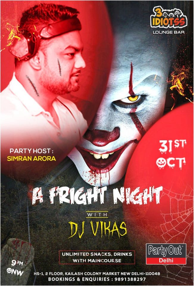 A Scary Night By Party Out Delhi