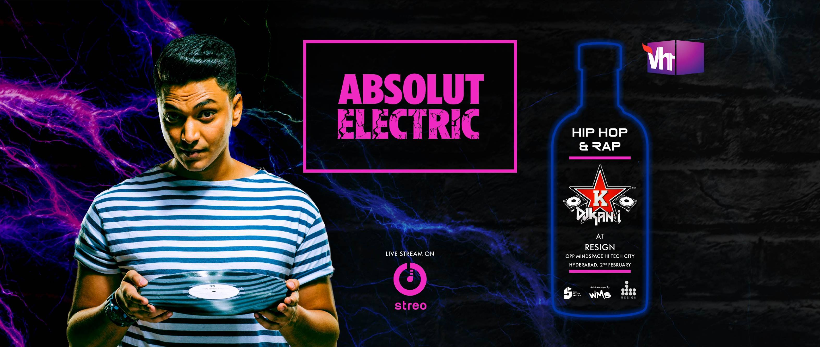 Absolut Electric X Streo Hip Hop Tour: Hyderabad