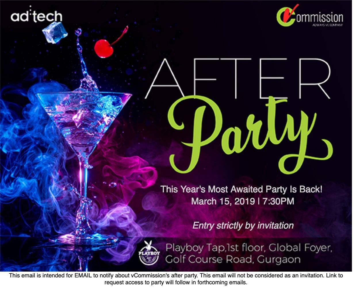 Adtech : AFTER PARTY by vCommission