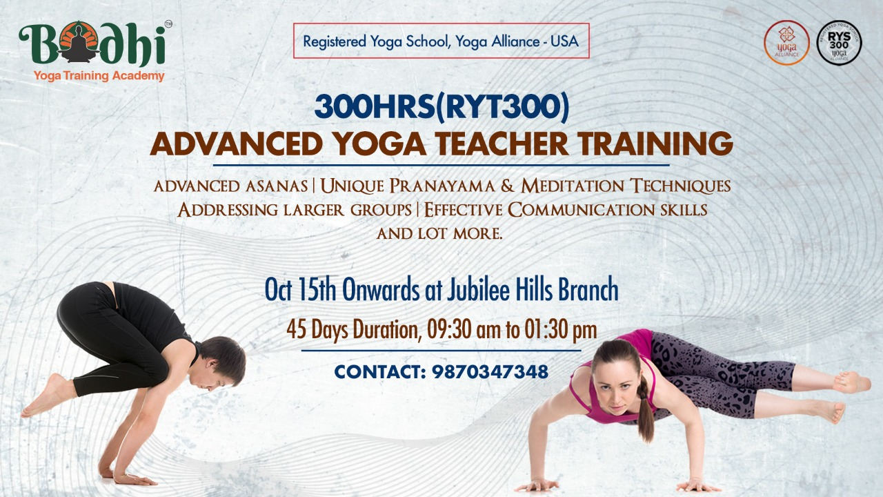 Advanced Yoga Teacher Training