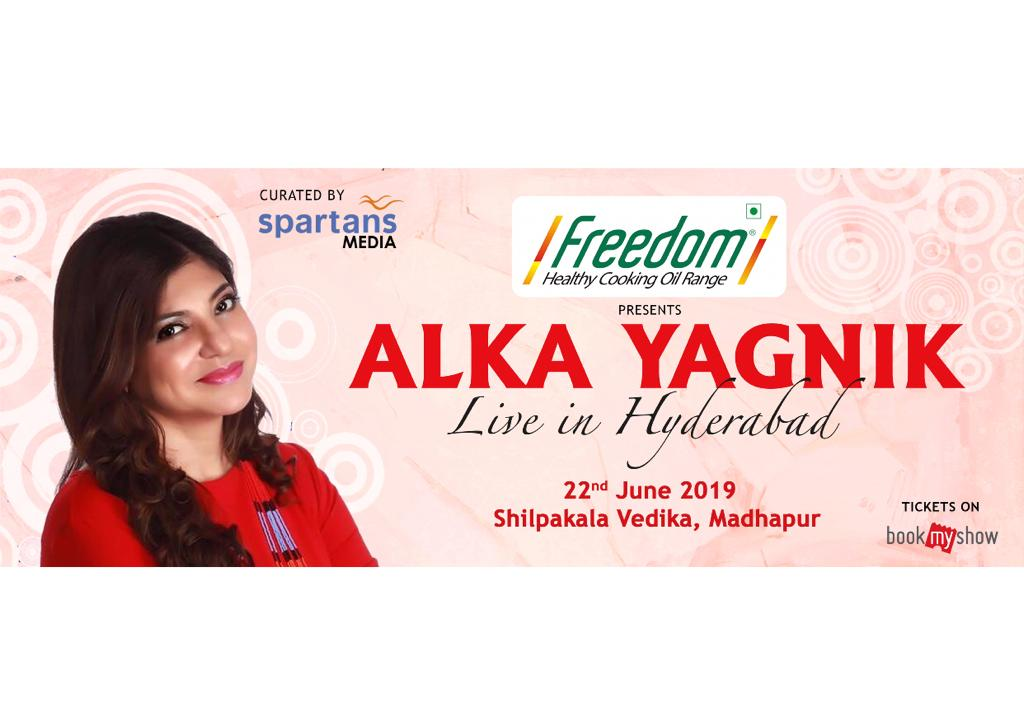 Alka Yagnik - Live in Hyderabad