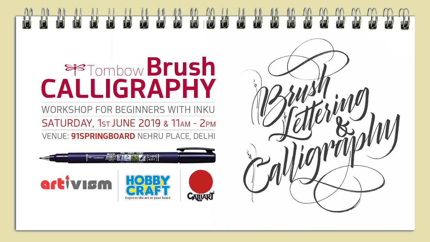 Brush Calligraphy & Lettering Workshop