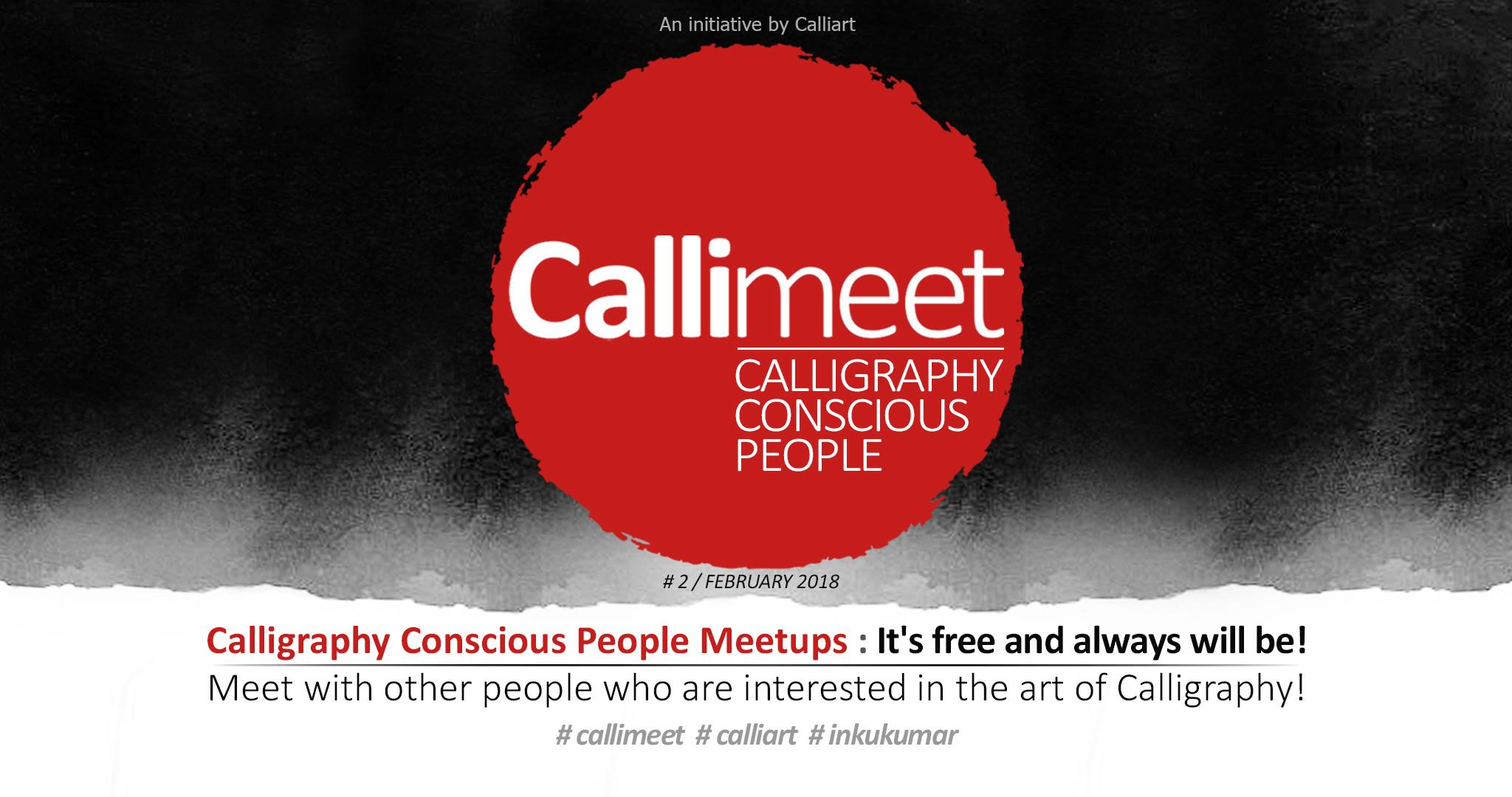 Callimeet : Third Calligraphy Meetup