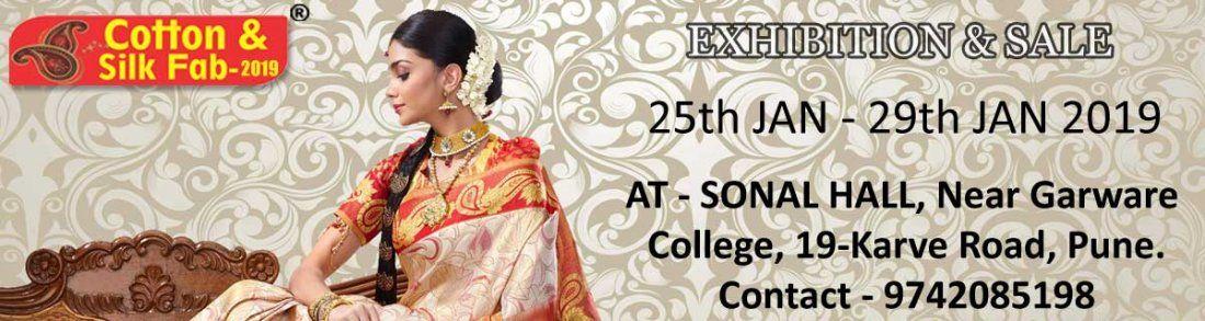 Wedding Collection Exhibition cum Sale by Cotton & Silk Fab