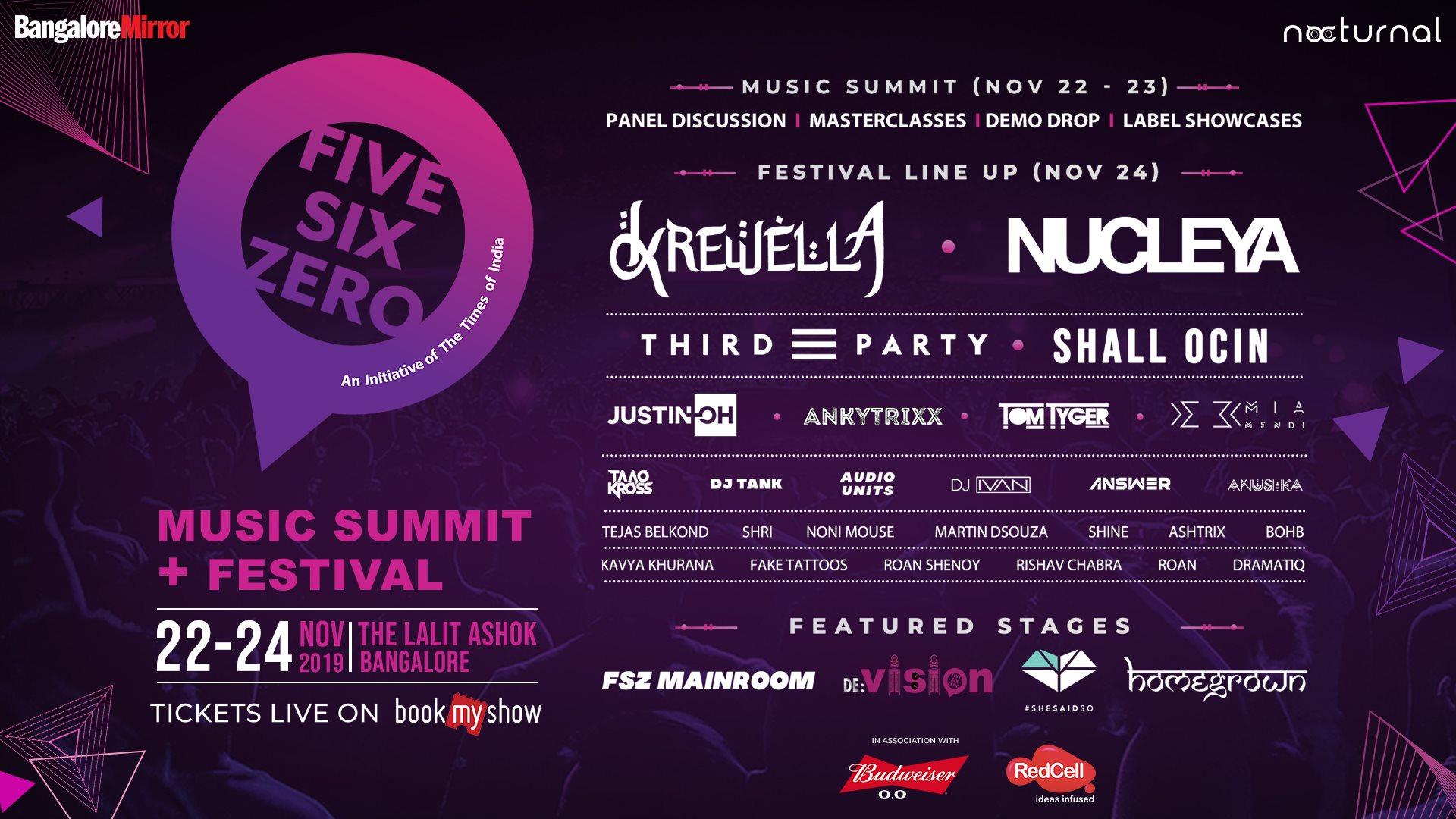 Five Six Zero 2019 - Music Festival (Sunday, Nov 24)