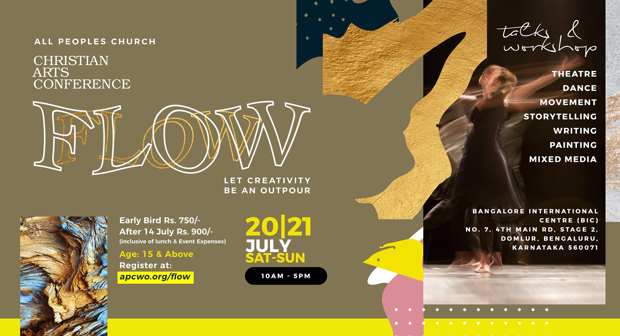 Flow: Christian Arts Conference