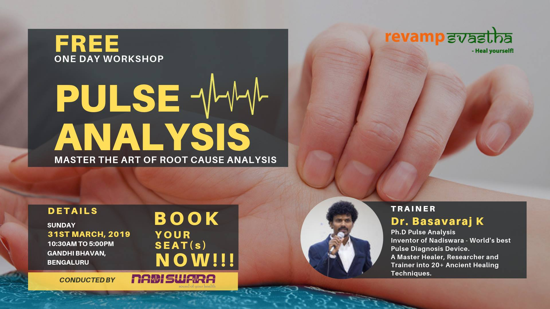 Free One Day Workshop on Pulse Diagnosis