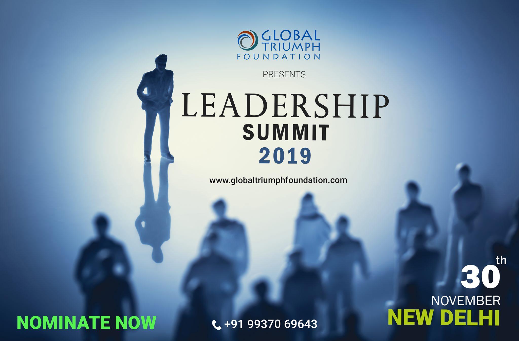 GTF Leadership Summit - 2019 , New Delhi