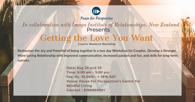 Getting The Love You Want - Weekend Couples Workshop