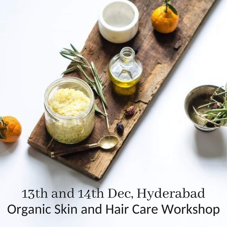 Hyderabad Organic Haircare Workshop