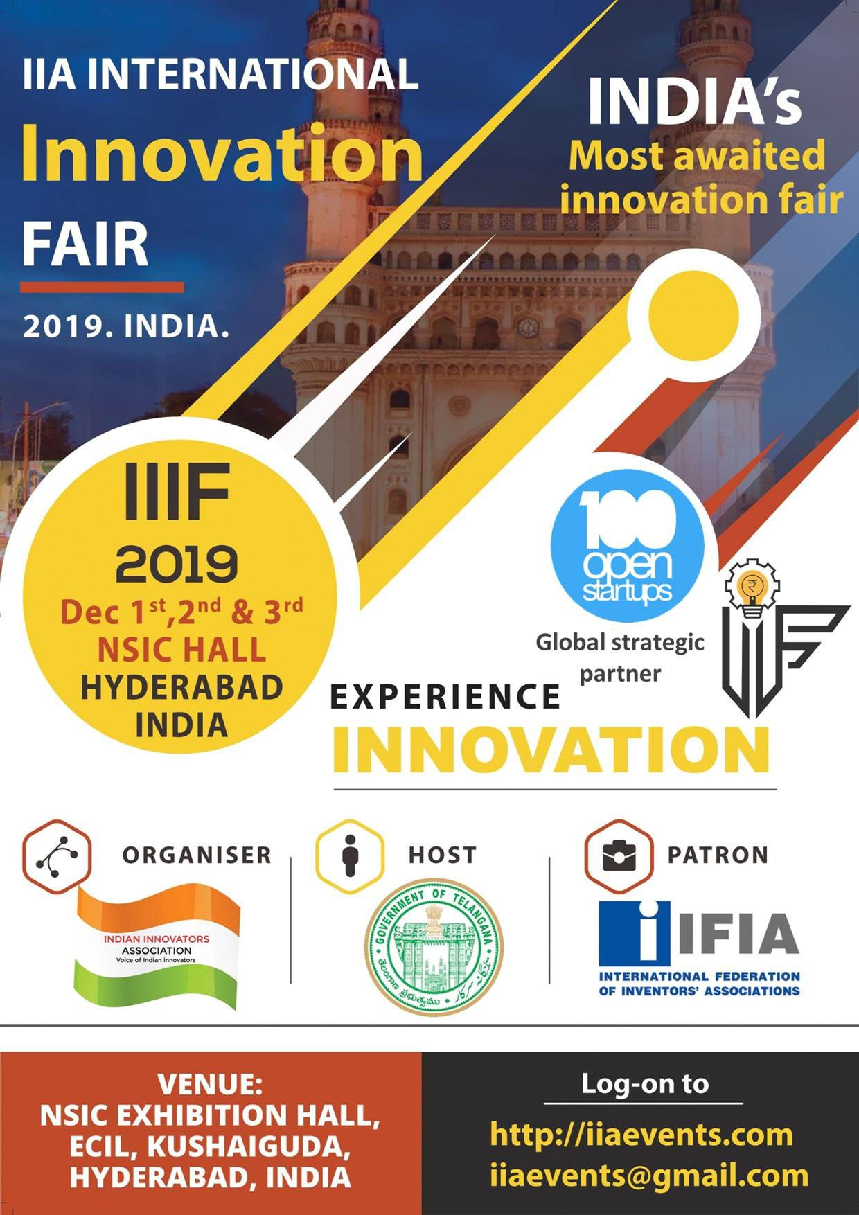 IIA International Innovation Fair (IIIF2019)