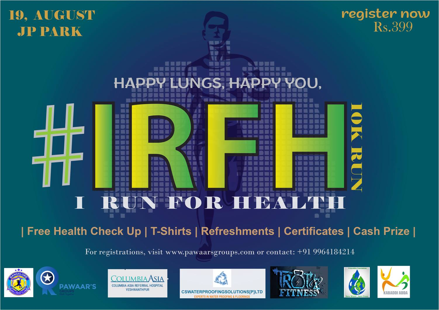 I Run For Health 10k Run