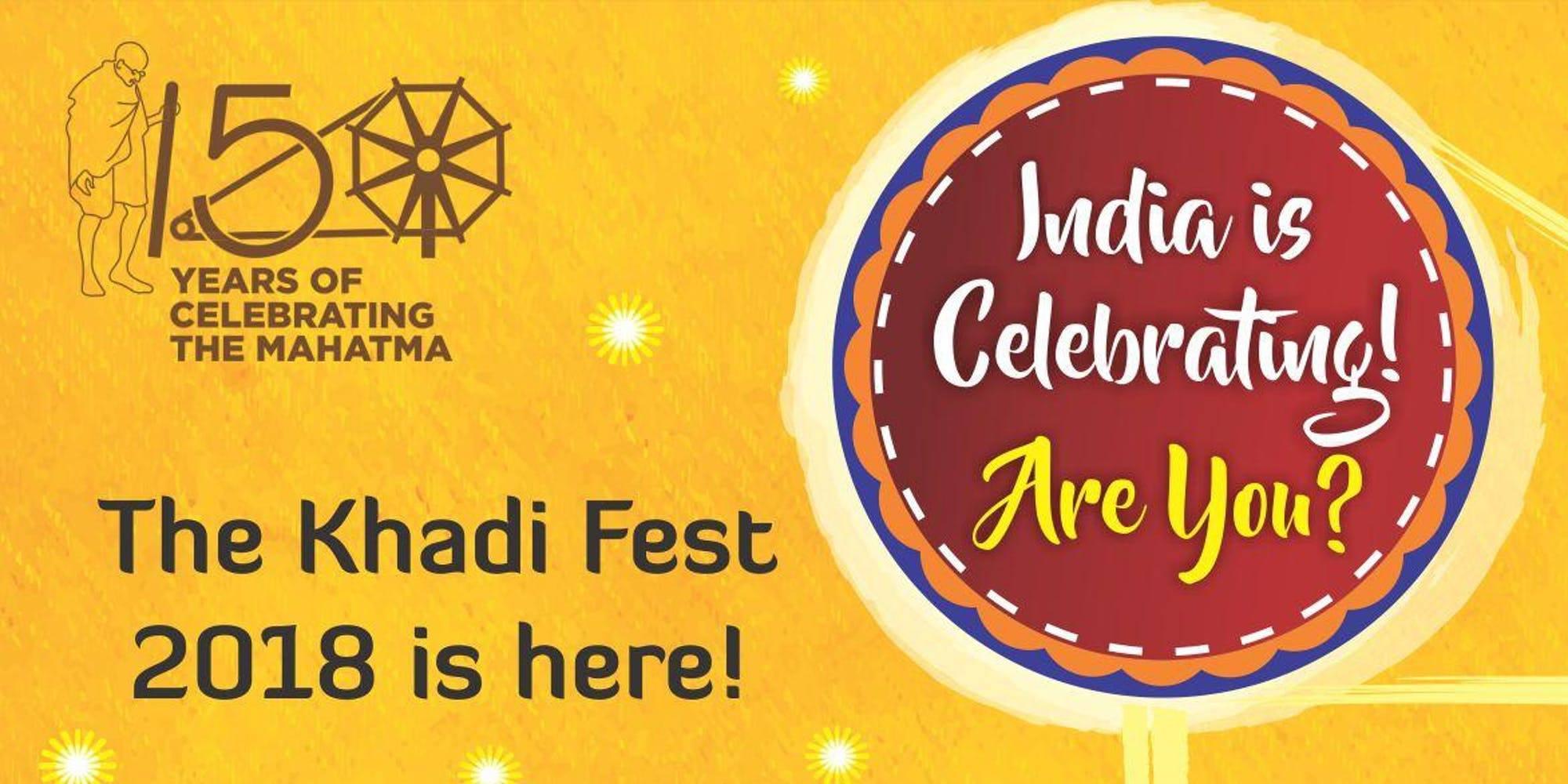 Khadi Festival 2018 Delhi