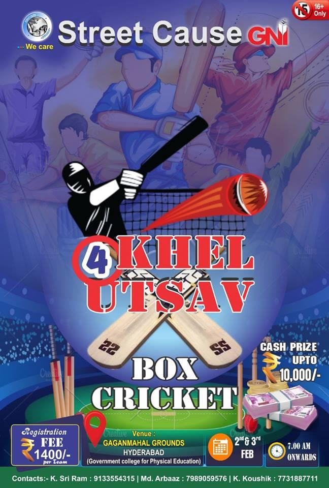 Khel Utsav 4 - Box Cricket Tournament
