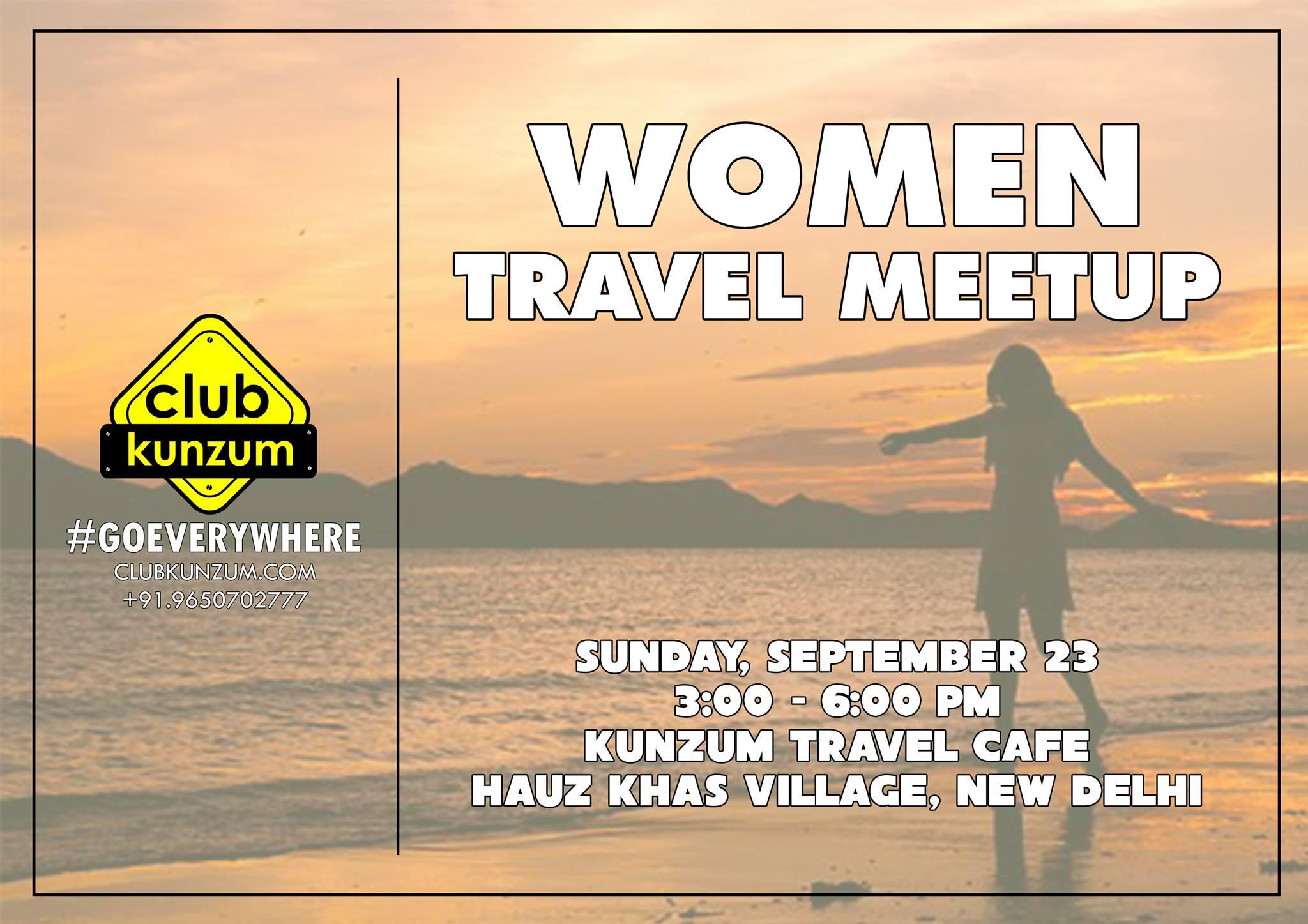 Kunzum Women Travel Meetup 1.0