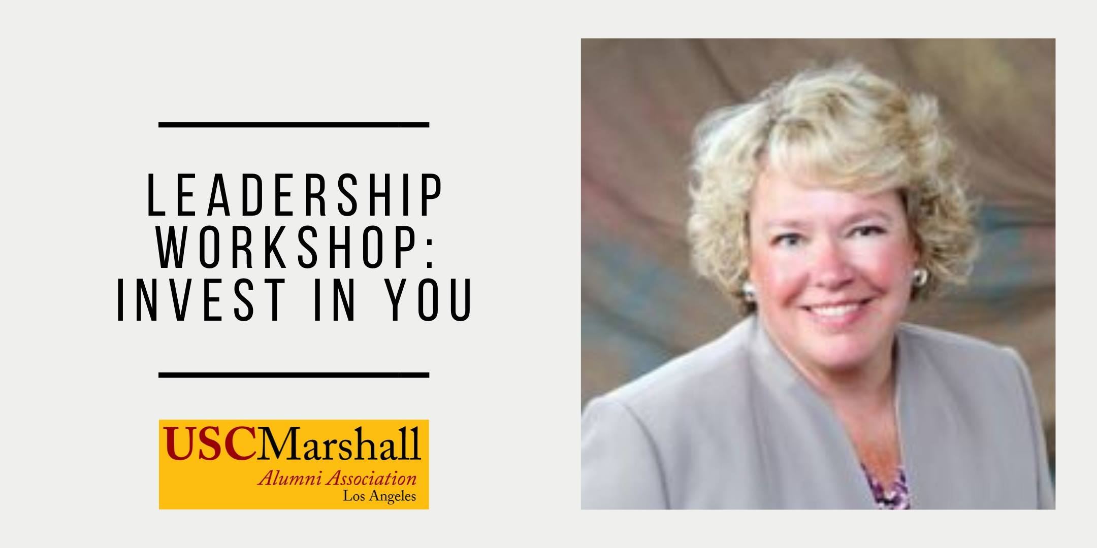 Leadership Workshop: Invest in You