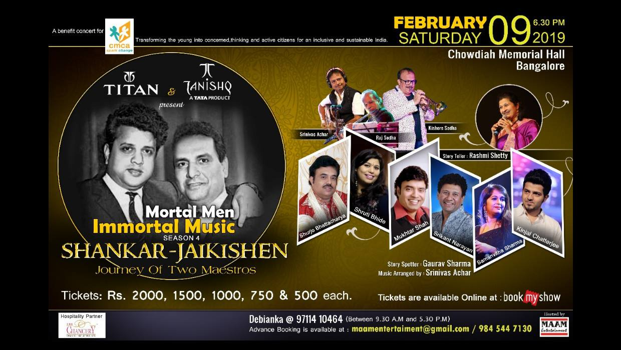 Mortal Men, Immortal Music - Season 4 - Benefit Concert for CMCA