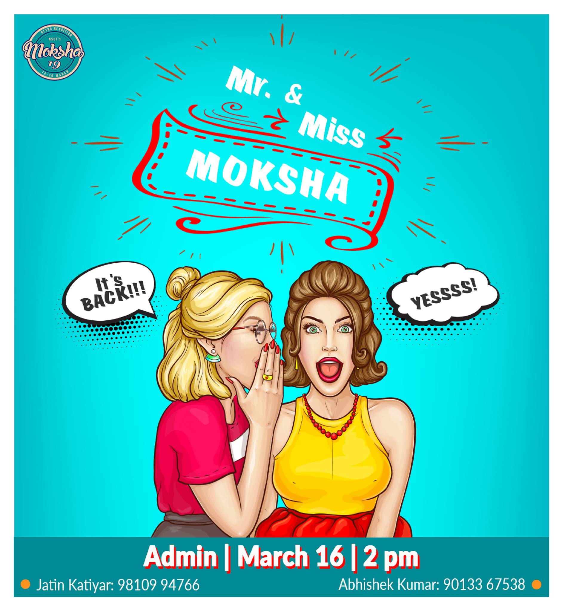 Mr and Miss Moksha