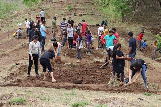 Maha Shramdaan at Pashan Hill