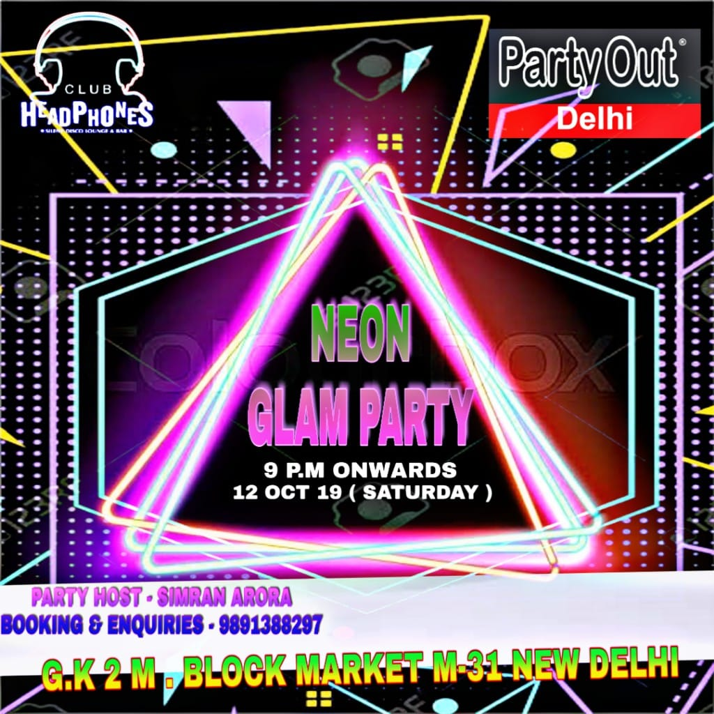 Neon Glam Party By Party Out Delhi