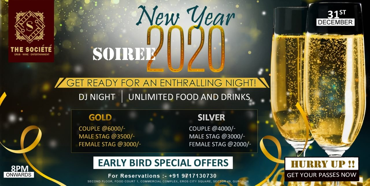 New YEAR 2020 Soiree