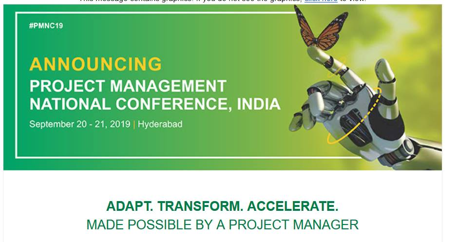 PMI Project Management National Conference 2019
