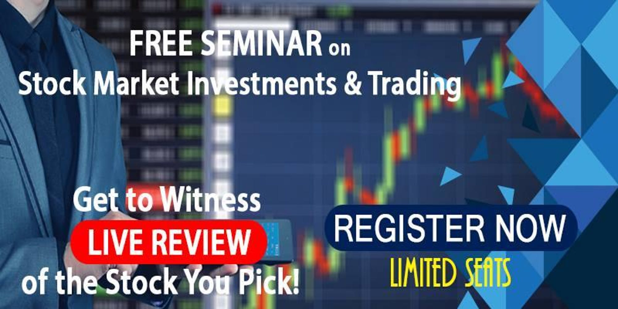 Seminar on Stock Market Investments & Trading| Live Review|