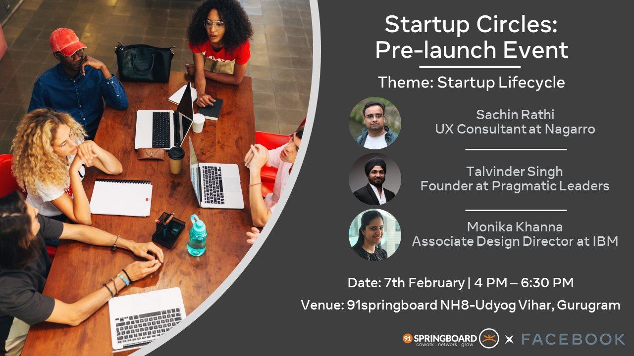 Startup Circles : Soft Launch