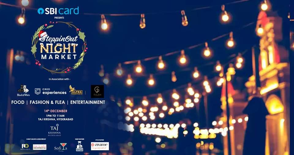SteppinOut Night Market - Christmas Edition Hyderabad