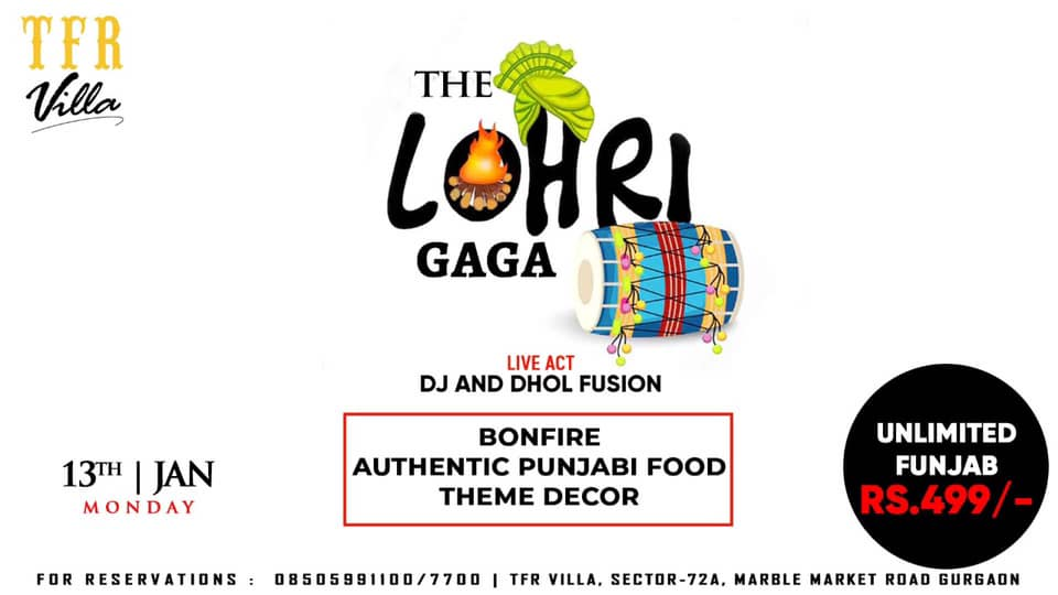 The Lohri gaga