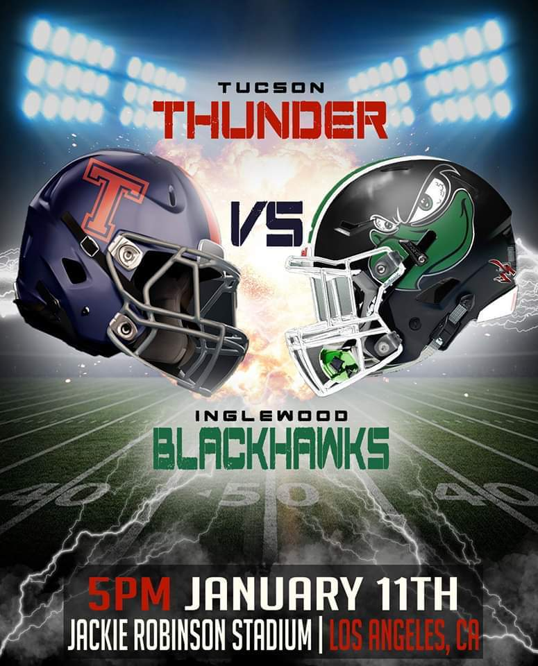 Tucson Thunder @ Inglewood Blackhawks