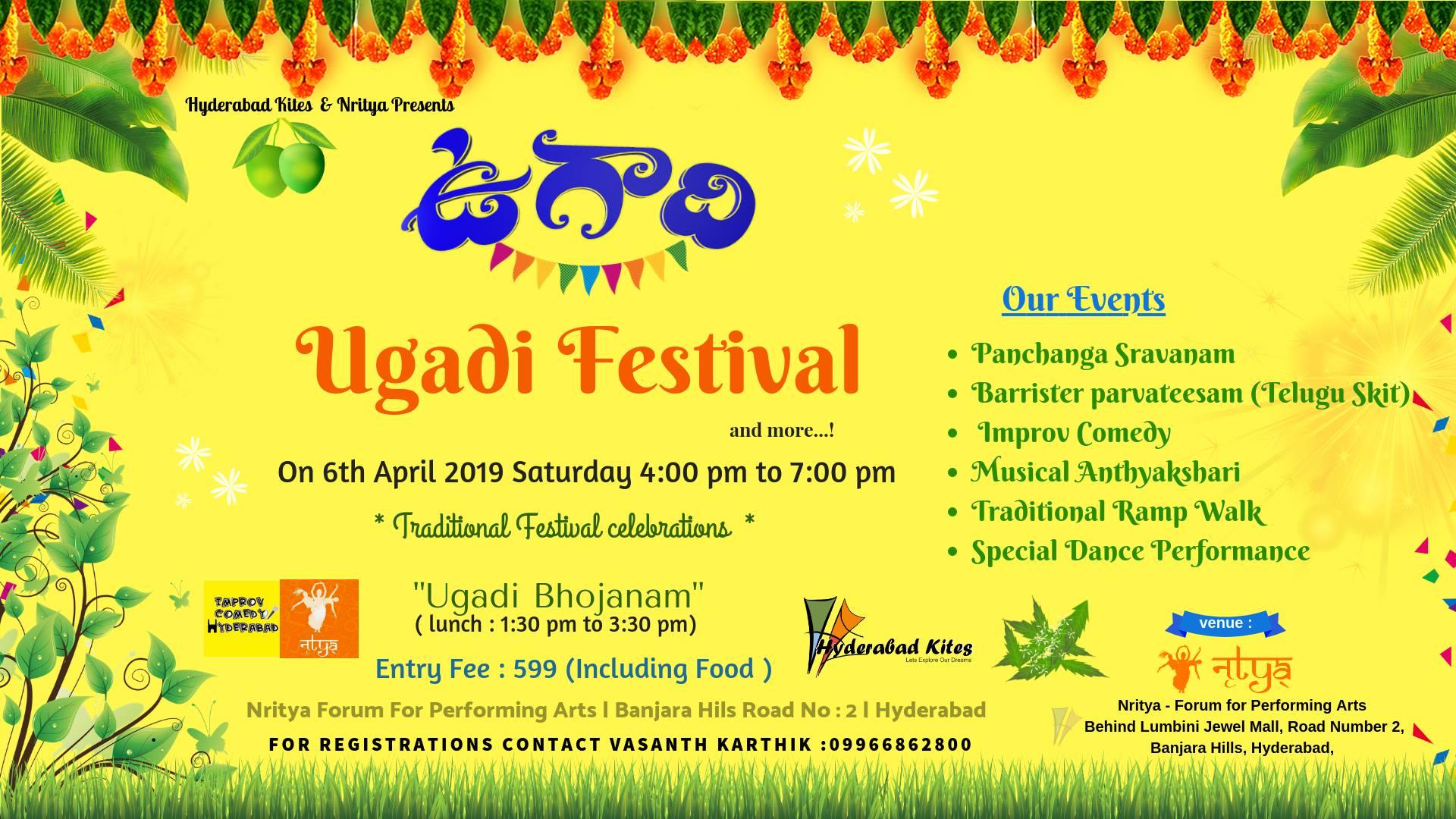 Ugadi Festival 2019