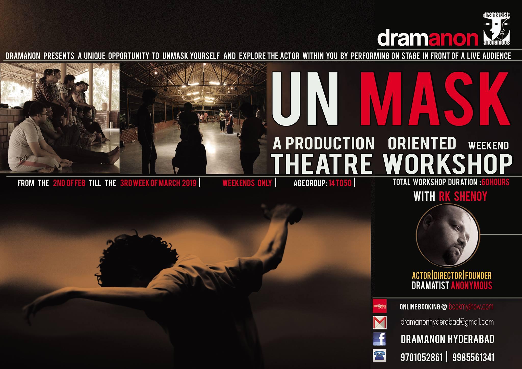 UnMASK- A production oriented theatre workshop
