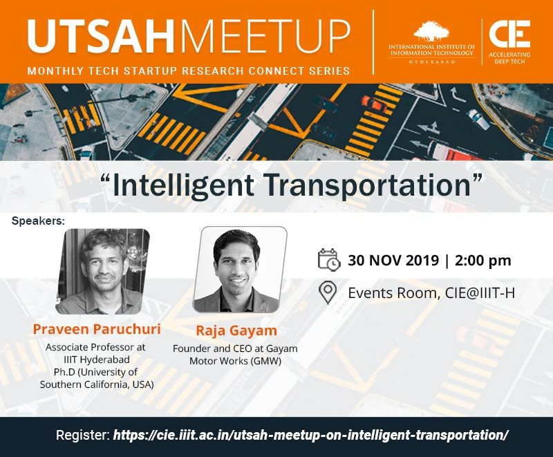 Utsah Meetup on Intelligent Transportation