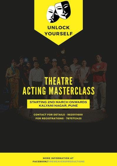 THEATRE ACTING MASTERCLASS