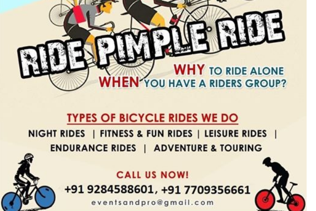 Ride Pimple Ride: Wednesday Morning Fitness Ride