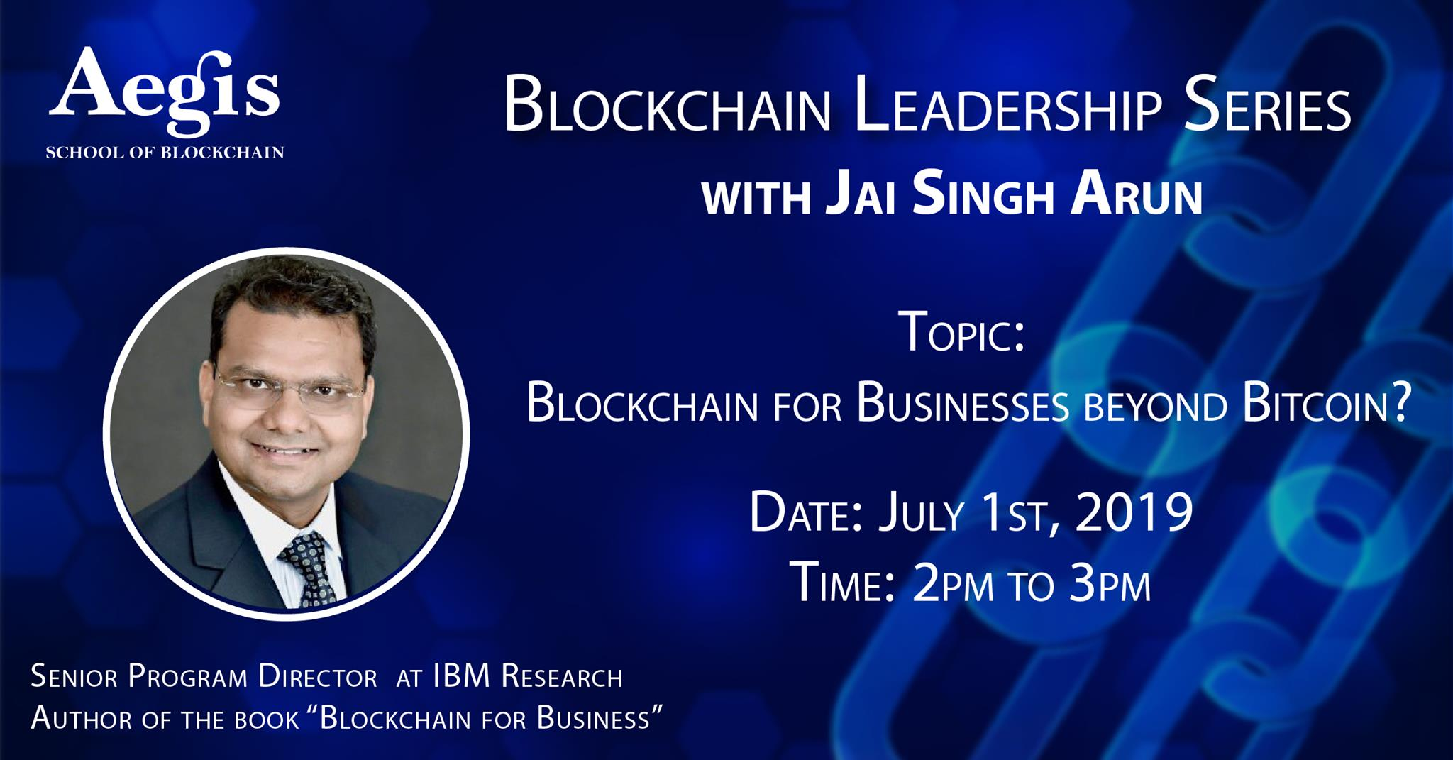 Blockchain Leadership Series