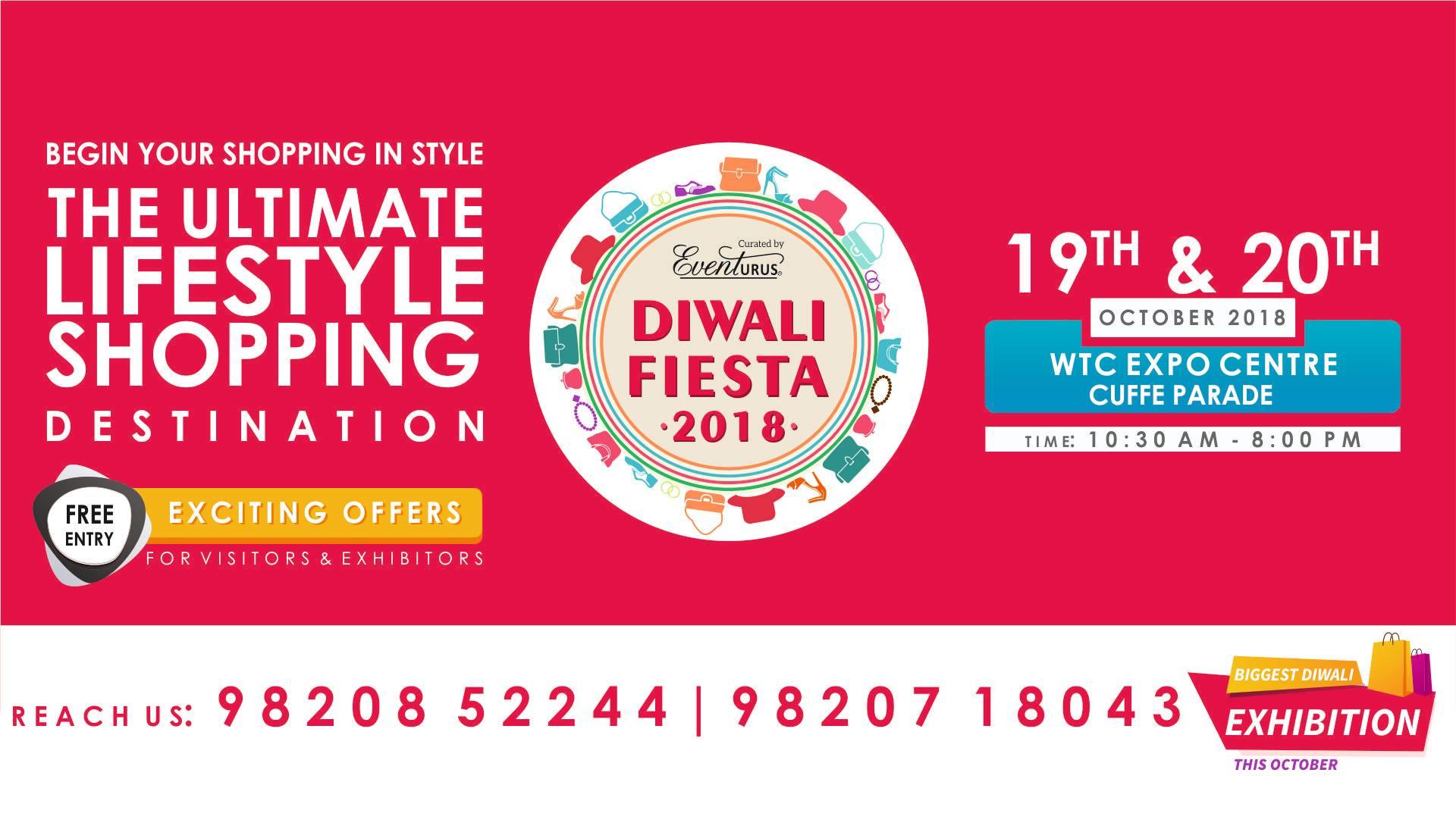 Diwali Fiesta Exhibition 2018 - WTC Cuffe Parade