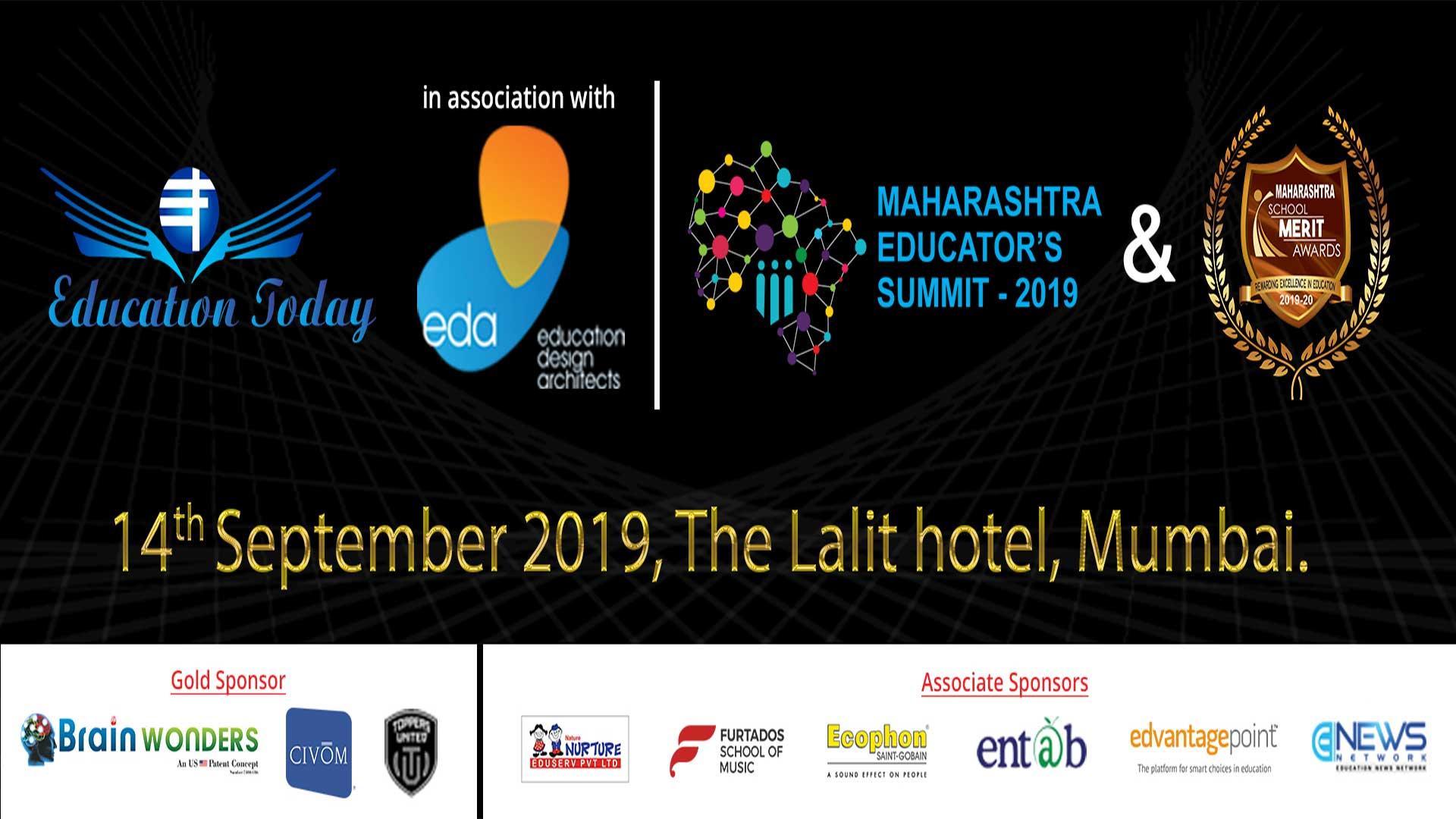 Maharashtra Educators Summit & School Merit Awards - 2019