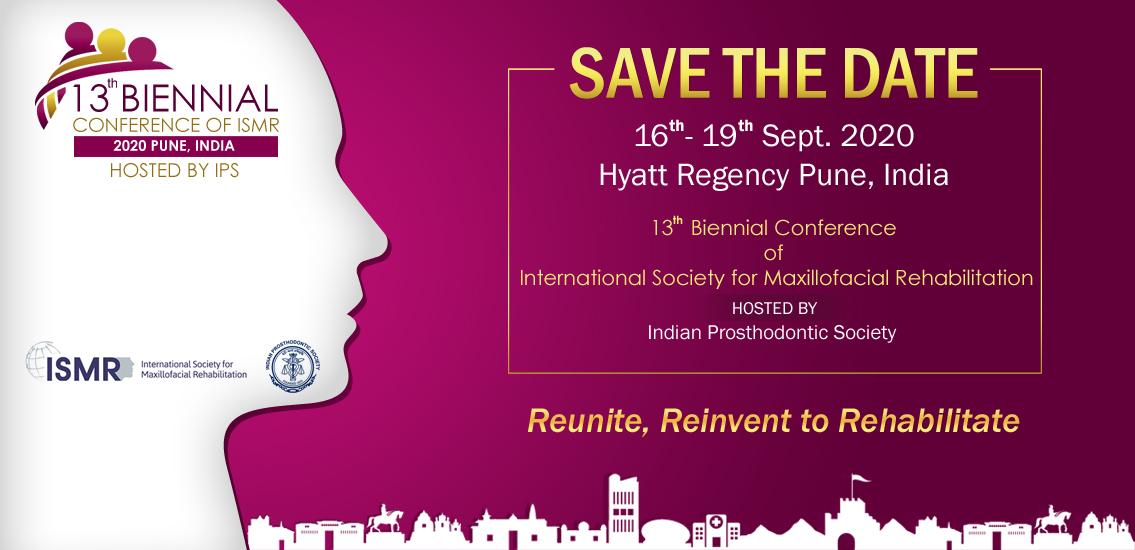13 Biennial Conference of International Society for Maxillofacial Rehabilitation