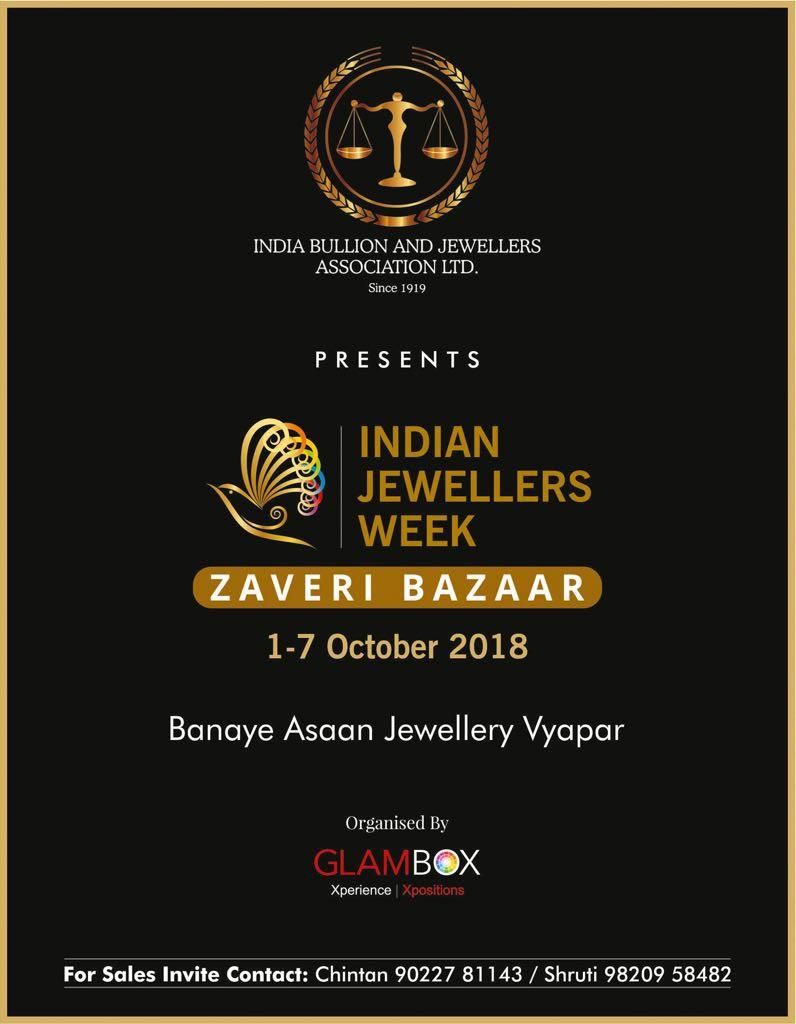 INDIAN JEWELLERS WEEK - ZAVERI BAZAAR