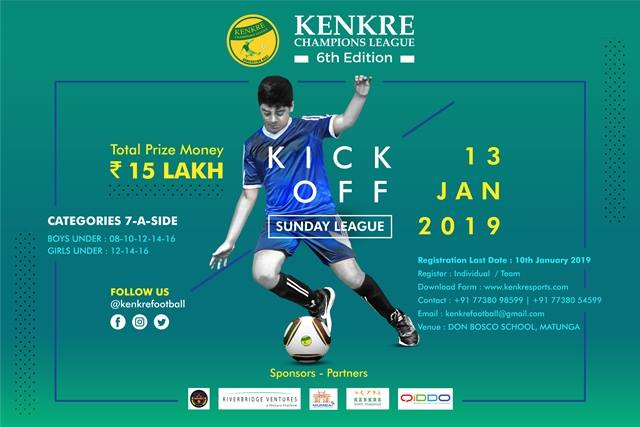 6th Edition Kenkre Champions League 2018-19