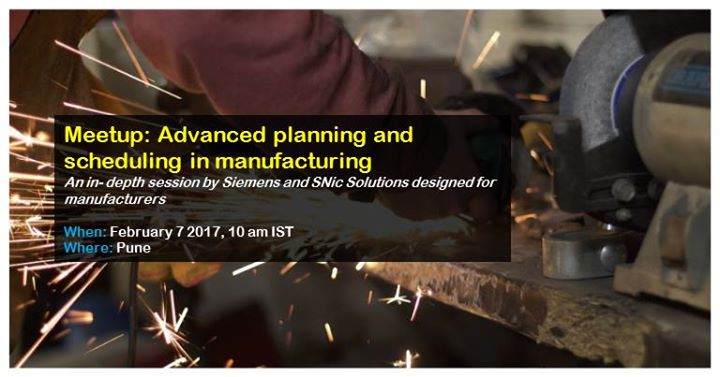 Advanced planning and scheduling in manufacturing- Pune