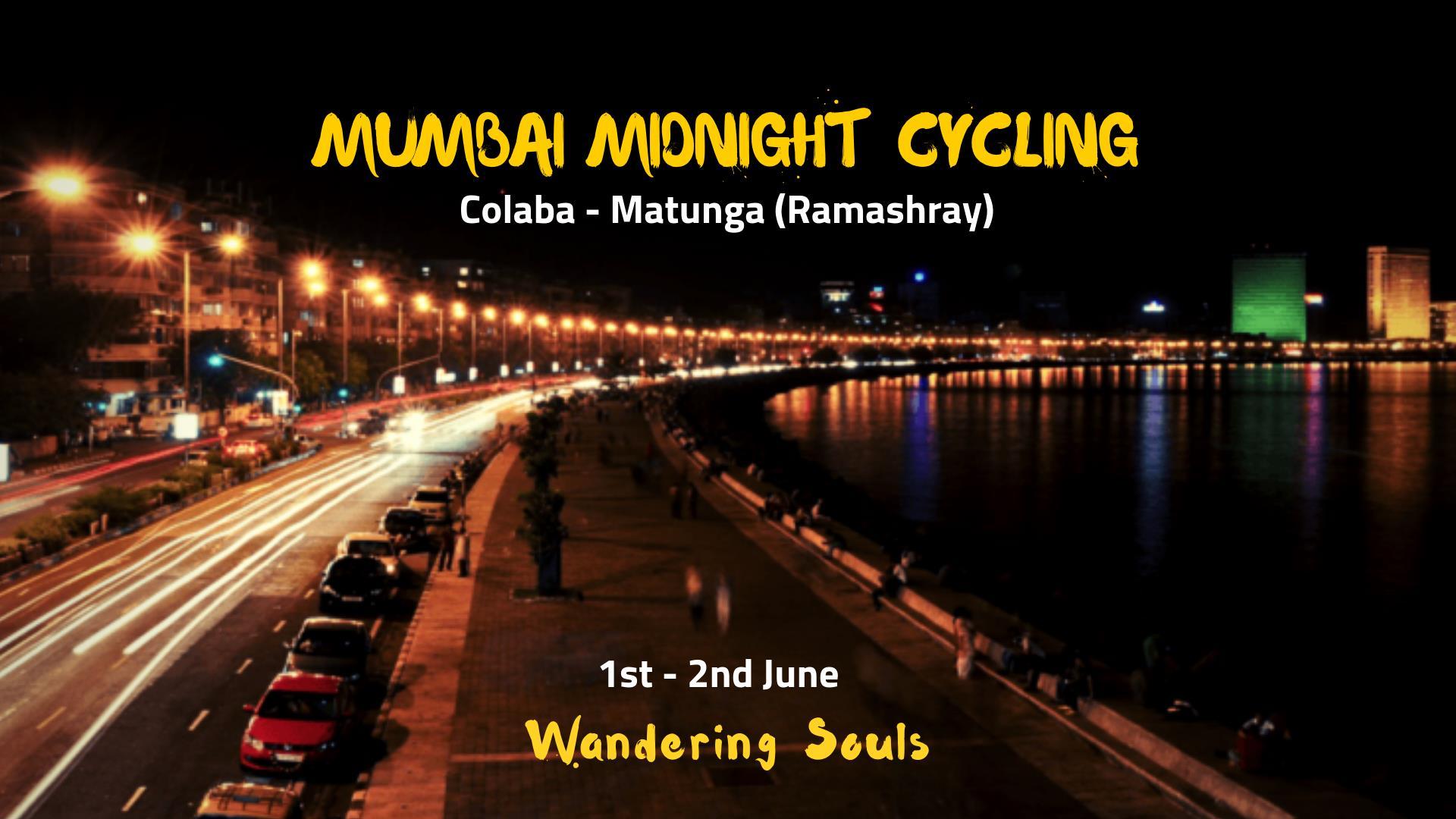 Mumbai Midnight Cycling with Breakfast