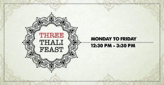 Three Thali Feast