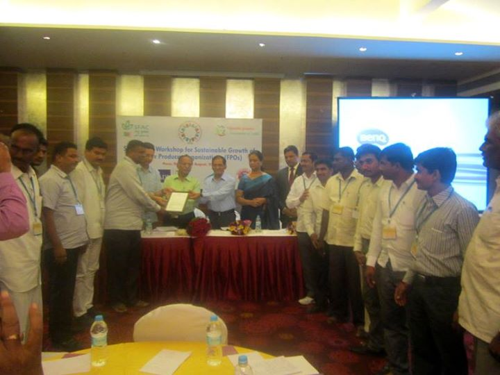 SFAC WORKSHOP ON FPOs : Promotion of EGS & CGS